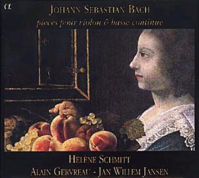 Violin Sonatas: Schmitt(Vn)gervreu(Vc)jansen(Cemb)