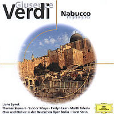 Nabucco(Hlts): Stein / Deutschenoper Berlin Synek Konya E.lear