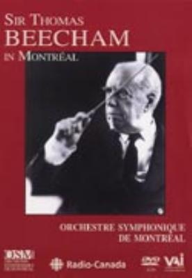 Sym.38: Beecham / Montreal.so +mozart: Concert Arias: Stader, Handel