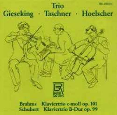 ブラームス:ピアノ三重奏曲第3番 ヘルシャー、他