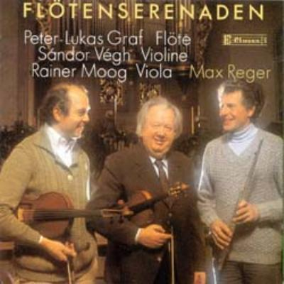 Flute Serenades: P.l.graf(Fl), Vegh(Vn), R.moog(Va)