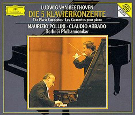 ピアノ協奏曲全集 ポリーニ(p)アバド&ベルリン・フィル(3CD)