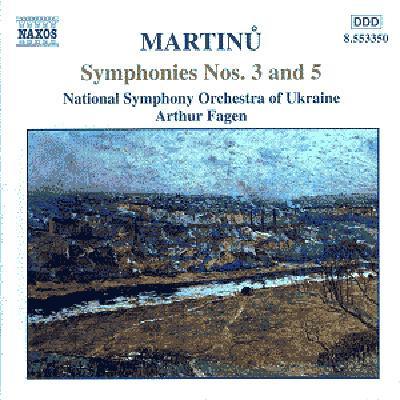 交響曲第3番/第5番 フェイゲン/ウクライナ国立交響楽団