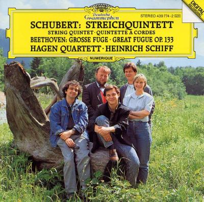String Quintet: H.schiff(Vc)Hagen Q +beethoven: Great Fugue