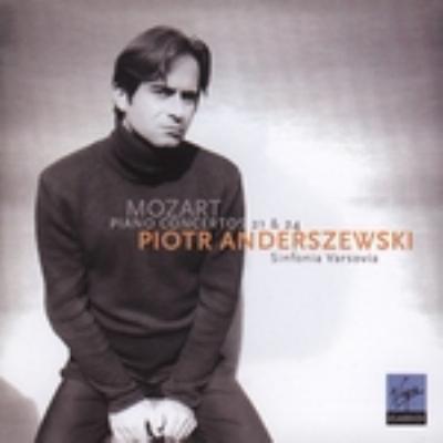 ピアノ協奏曲第21番、第24番 アンデルジェフスキ(p)シンフォニア・ヴァルソヴィア