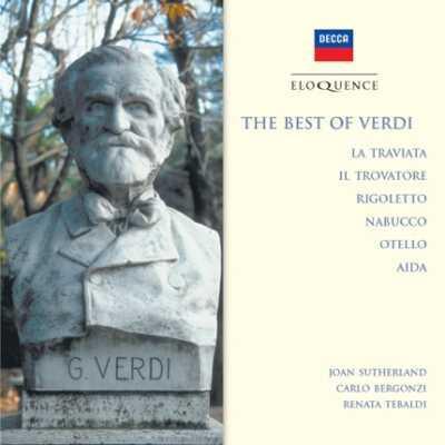 Opera Arias: Sutherland Bergonzi Tebaldi Simionato Del Monaco