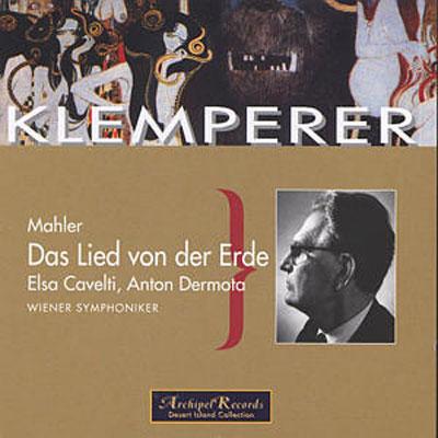 Das Lied Von Der Erde: Klemperer / Vso ('51)