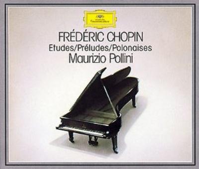 『24の練習曲』『24の前奏曲』『ポロネーズ集』 ポリーニ(3CD)