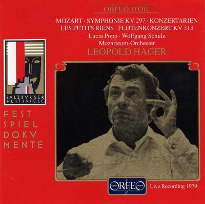Sym.31, Flute Concerto.1, Concert Arias: Hager / Salzburg Mozarteum.o, Popp