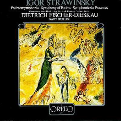 Psalm Symphony, Etc: Bertini / Stuttgart Rso & Chor