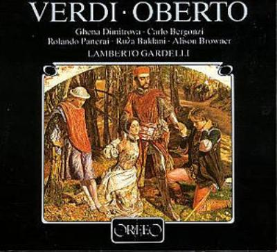 Oberto: Gardelli / Munich Radio O Dimitrova Bergonzi Panerai