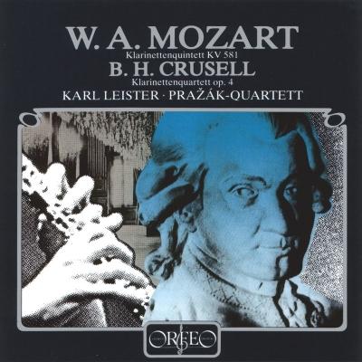 Clarinet Quintet: Leister(Cl)Prazak Q +crusell