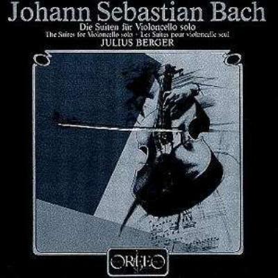 無伴奏チェロ組曲 ベルガー(1984)(2CD)