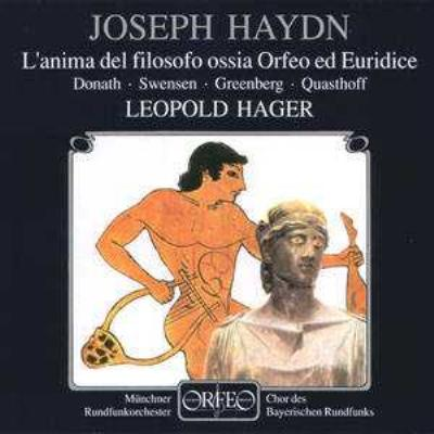 Orfeo Ed Euridice: Hager / Munich Radio O Donath Quasthoff