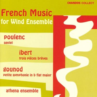 グノー:小交響曲、プーランク:六重奏曲、イベール:3つの小品 アテナ・アンサンブル
