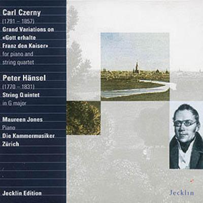 Variations: M.jones(P), Kammermusiker Zurich +p.hansel: String Quintet