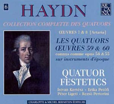 String Quartet, 57, 58, 59, (Op.54), 60, 61, 62, (Op.55): Festetics Q