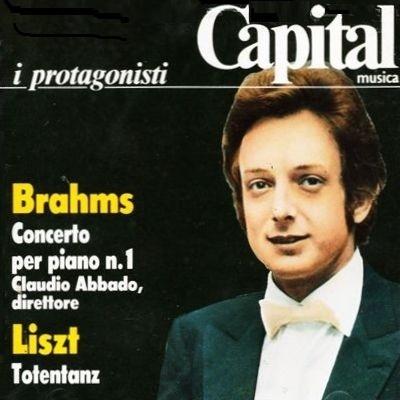 ブラームス:ピアノ協奏曲第1番、リスト:死の舞踏 チアーニ、アバド、パローディ