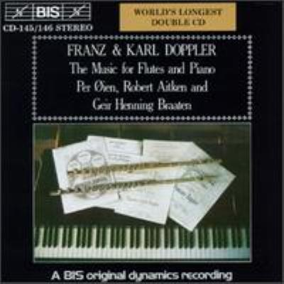 (F & K.doppler)music For Flute & Piano: Aitken Oien(Fl)Braaten(P)