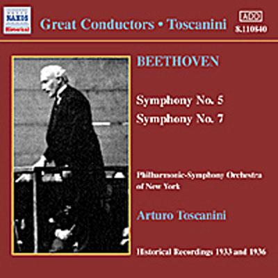 交響曲第5番「運命」/第7番 トスカニーニ/ニューヨーク・フィルハーモニー