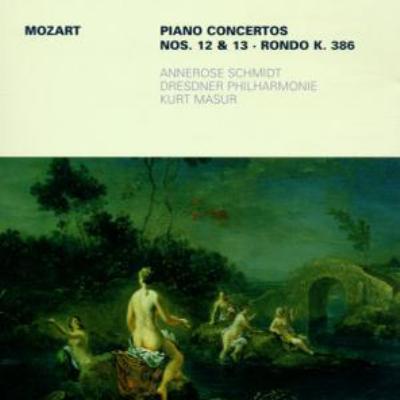 ピアノ協奏曲第12番、第13番、ロンド シュミット、マズア&ドレスデン・フィル