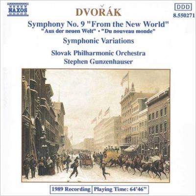 交響曲第9番<新世界より> ガンゼンハウザー/スロヴァキアPO
