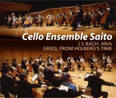 Cello Ensemble Saito Grieg、Villa-lobos、Klengel、Weill、J.s.bach、