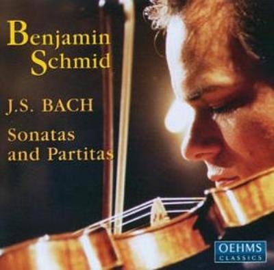 無伴奏ヴァイオリンのためのソナタ&パルティータ 全曲 ベンヤミン・シュミット(Vn)
