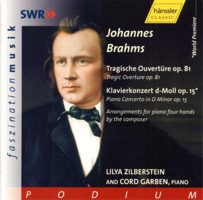 (Piano Duo)piano Concerto.1, Tragic Overture: Zilberstein, Garben(P)