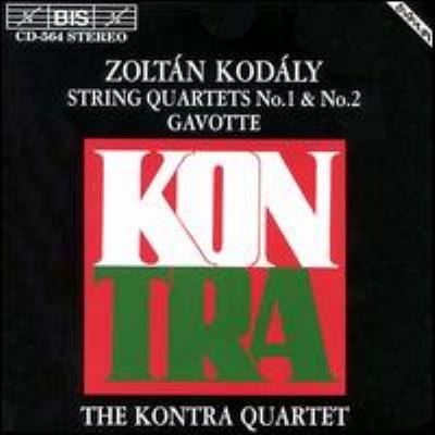 String Quartet.1, 2: Kontra.q