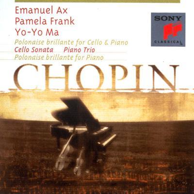 Piano Trio, Cello Sonata: Yo-yoma(Vc), Ax(P), P.frank(Vn), Etc