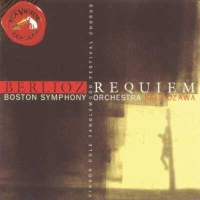 Requiem: Ozawa / Bso W.cole Tanglewood Festival Cho