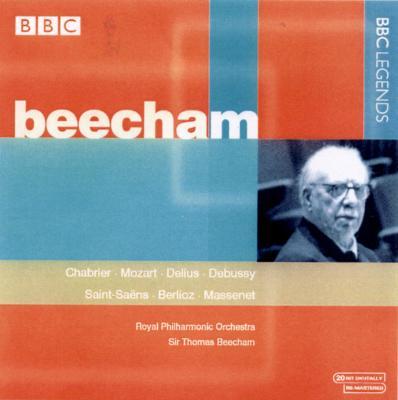 Beecham / Rpo Chabrier, Mozart, Delius, Debussy, Saint-saens, Berlioz, Massene