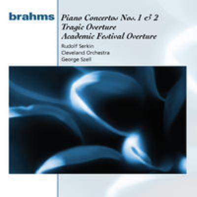 ピアノ協奏曲第1番、第2番 ゼルキン、セル&クリーヴランド管弦楽団(2CD)