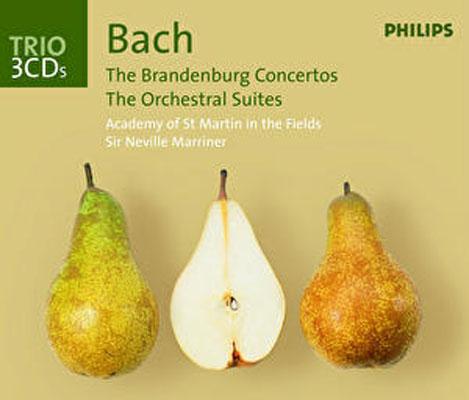 ブランデンブルク協奏曲&管弦楽組曲全曲 マリナー&ASMF(3CD)