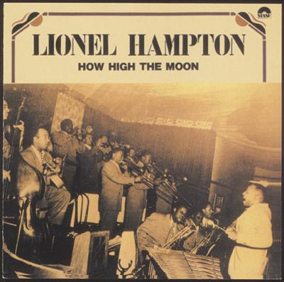 how high the moon lionel hampton hmv books online abcj 249. Black Bedroom Furniture Sets. Home Design Ideas