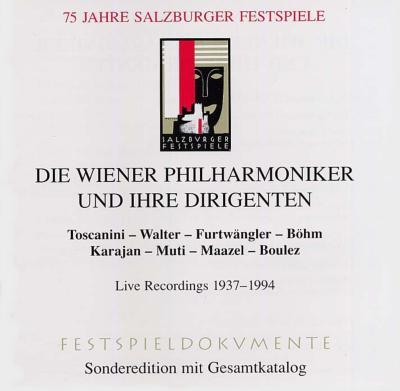 Vpoと偉大な指揮者たちザルツブルク音楽祭75周年記念salzburg Festival