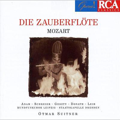 『魔笛』全曲 スイトナー&シュターツカペレ・ドレスデン、シュライアー、ゲスティ、他(1970 ステレオ)(2CD)