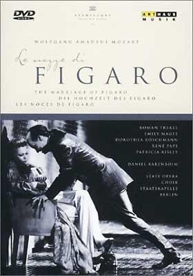 歌劇「フィガロの結婚」K.492(伊語歌詞、英日字幕付) パーペ/レシュマン/マギー/トレケル/バレンボイム/ベルリン国立歌劇場合&管