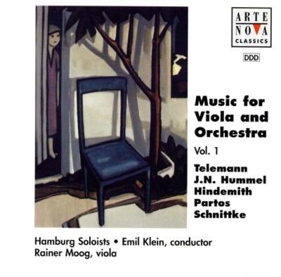 Music For Viola & Orchestra: Moog(Va)Klein / Hamburg Soloists
