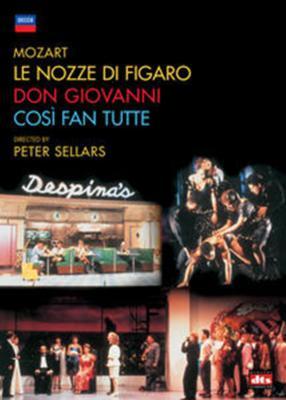 『フィガロの結婚』『ドン・ジョヴァンニ』『コジ・ファン・トゥッテ』 セラーズ演出、スミス&ウィーン響(6DVD)