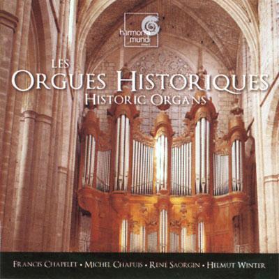 ヨーロッパの歴史的オルガン シャプレ、サオルジャン、シャピュイ、ヴィンター(org)(6CD)