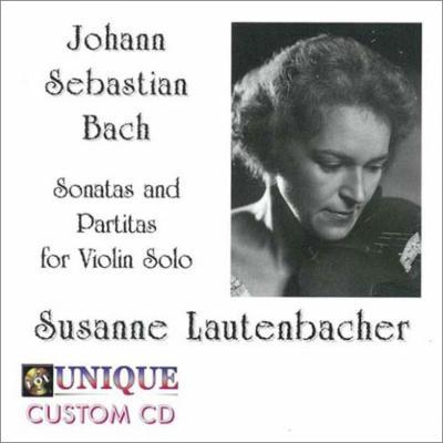 無伴奏ヴァイオリンのためのソナタとパルティータ全曲 ラウテンバッハー(1973−74)(2CD)