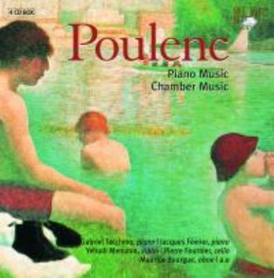 ピアノ曲&室内楽曲集 タッキーノ、フェヴリエ、フルニエ、他(4CD)