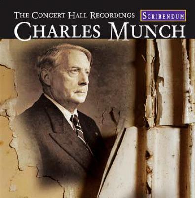 Charles Munch Concert-hall-society Recordings(Ian Jones Remaster)