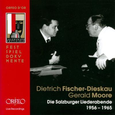 ザルツブルク歌曲の夕べ 1956−1965 フィッシャー=ディースカウ(Br)ムーア(p)