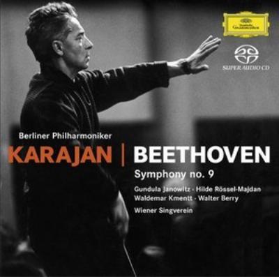 交響曲9番 カラヤン&ベルリン・フィル(1962)(Hyb SACD)