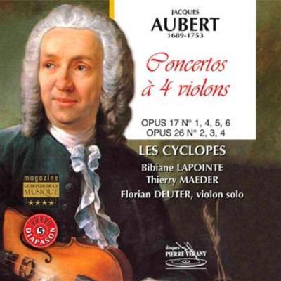 Violin Concertos: Deuter(Vn)/ Ensemble Les Cyclopes
