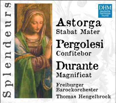Magnificat: Hengelbrock / Freiburg Baroque O +pergolesi, Astorga