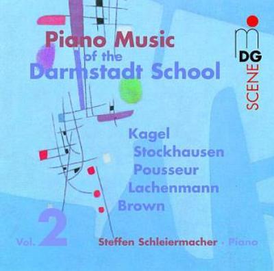Schleiermacher(P) Piano Music Of Darmstadt School Vol.2